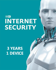 Eset internet Security 2020 for PC ( 3 YEARS , 1 DEVICE )  Global Key Licence