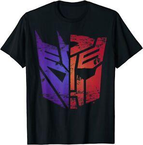 Transformers Decepticon Autobot Split Logo T-Shirt