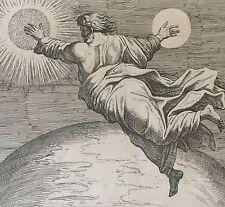 Nicolas CHAPRON ou CHAPERON d'après RAPHAEL Dieu crée firmament soleil XVIII