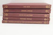 An Exposition by Charles R. Erdman (5) Vols. Acts, Gospel of Matthew, Epistles