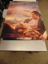 Before Sunset Teaser Ethan Hawke Julie Delpy Original Movie Poster N6083
