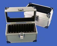 10 Graded Certified NGC/PCGS/Premier/Elite Coin Slab Aluminum Storage Box Case