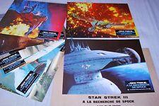 STAR TREK 3  !  leonard nimoy jeu 12 photos cinema lobby cards science fiction
