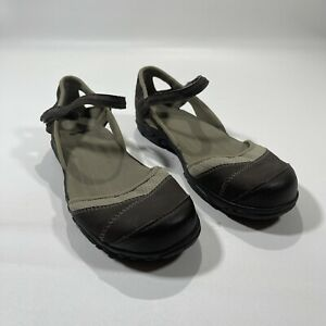 Teva Westwater Womens Size 9 Brown Beige Mary Jane Flats Sandals S/N 4188