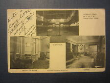 Old Vintage 1910 OSKALOOSA IOWA POSTCARD - YMCA - Gymnasium - Interior Views