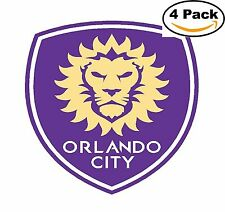 Orlando City SC FC MLS Football Soccer Vinyl Sticker Decal 4X4