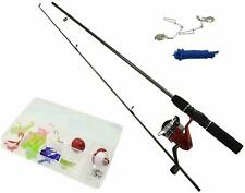 A-Z Complete Starter Beginners Fishing Kit Float Rod Reel tackle Quality Set 5**