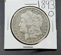 1893 O $1 Morgan Silver Dollar Coin CH VF Very Fine Details Cleaned Nice Look