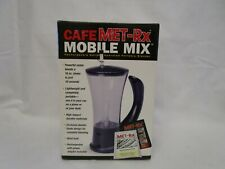 Portable  Blender Cafe Met RX Rechargeable  Battery  Operated