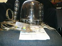 Harman Kardon SoundSticks Multimedia Speaker System + manual - Good Condition