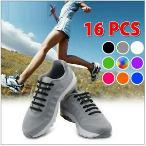 No Tie Elastic Silicone Shoe Laces Shoelaces Sneakers Sports Child/Adult/Unisex