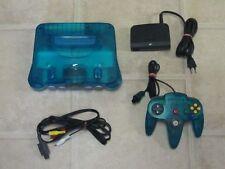 Nintendo 64 komplett mit Controller N64 türkis LESEN!!!!