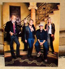 "Fleetwood Mac Rock Music Band Tabletop Standee 9 1/2"" Tall X 8 1/4"" Wide"