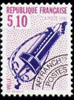 """FRANCE PREOBLITERE TIMBRE STAMP N°209 """"INSTRUMENTS MUSIQUE, VIELLE"""" NEUF xx TTB"""