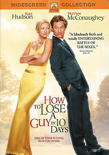 How to Lose a Guy in 10 Days ~ Kate Hudson Matthew McConaughey ~ New Sealed DVD