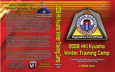 2008 Extreme Kyusho Self Defense Instructional 3 DVDs Jack Hogan