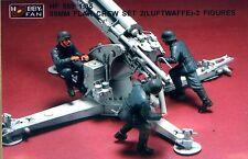 Hobby Fan 1/35 HF-569 WWII German 88mm Flak Crew (Set 2) (Luftwaffe) - 3 Figures