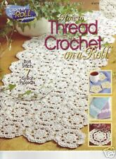 Crochet: How to Thread Crochet On A Roll -Annie's Attic