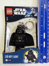 LEGO Star Wars - DARTH VADER MiniFigure - LED KEY LIGHT - Key Chain - Ages 5+