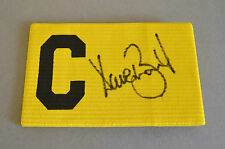Dave Beasant Signed Captains Armband Wimbledon 1988 Autograph Memorabilia + COA