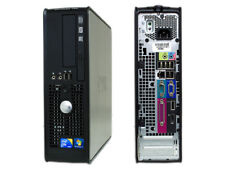 DELL 780 SFF PC USATO CORE 2 DUO 160GB 4GB DDR3 E7500 DVD WINDOWS 7