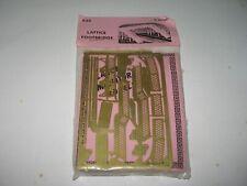 More details for n gauge langley models a34: lattice footbridge brass kit