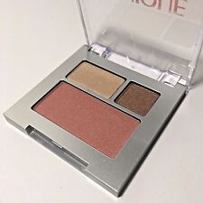 Clinique All About Shadow duo 01 like mink + powder blush 07 sunset glow