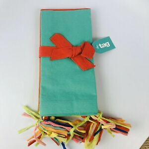 Napkin Set of 4 18 Inch Square Birthday Colors TAG 730780