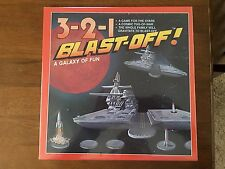 3-2-1 BLAST OFF! VINTAGE BOARD GAME; NEW SEALED 1991 Stars Galaxy Space Sci Fi
