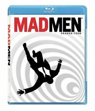 Blu Ray MAD MEN the complete fourth season series 4. UK compatible. New sealed.
