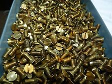 0  BA   Brass Countersunk   Screws - Slotted   -    1/2   INCH x 25