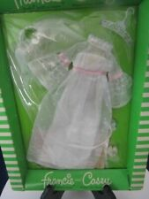VINTAGE 1970 BARBIE DOLL -FRANCIE AND CASEY #1244 WEDDING WHIRL OUTFIT NEW IN PA