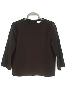 Vero Moda Ladies Black Top Size 14 Sleeves 3/4