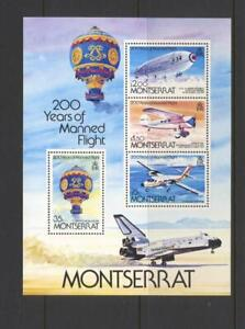 Montserrat 1983 SG MS 590 Bicentenary Manned Flight  Air MNH