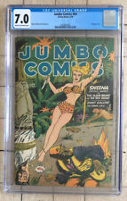 Jumbo Comics #64 — CGC 7.0 Sheena, Bondage Cover — 1944