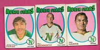 1971-72 OPC MINNESOTA NORTH STARS CARD LOT  (INV# J0507)