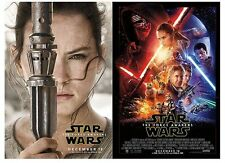 Star Wars: The Force Awakens 13 x 19 *EXCLUSIVE SET OF 6 POSTERS - DMR