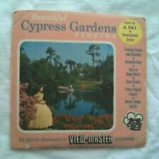 Cypress Gardens  Florida  View Master  S4  Packet  1950s