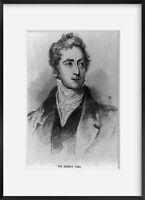 Vintage photograph: Sir Robert Peel (1788-1850) Summary: Son of 1st Baronet.