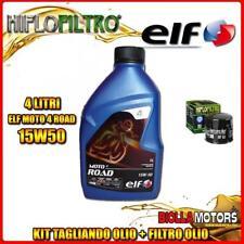 KIT TAGLIANDO 4LT OLIO ELF MOTO 4 ROAD 15W50 DUCATI 996 Biposto 996CC 1999- + FI