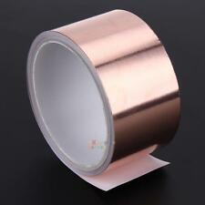 5.5 Meters 5 cm Copper Foil Tape EMI Double-sided Conductive Adhesive Roll