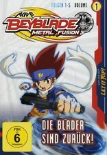 DVD/ Beyblade Metal Fusion - Volume 1 - Die Blader sind zurück !! NEU&OVP !!