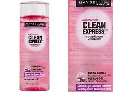 2 Pack Maybelline New York Clean Express Classic Eye Makeup Remover, 4 oz