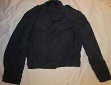 FLYVAPNET 54 vintage military NORVEGIAN NORWAY gray short wool jacket NOS ***
