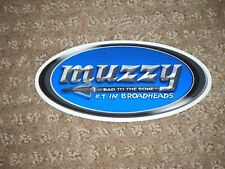 Large Muzzy Bad To The Bone Sticker (Look)