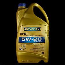 RAVENOL SFE Super Fuel Economy 5W-20 5L - Ford, Mazda, Chrysler, Honda, Nissan..