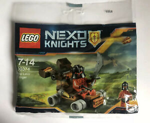 LEGO Nexo Knights The Lava Slinger Ash Attacker Polybag (30374) *NEW & SEALED!*