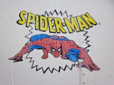 AMAZING SPIDERMAN distressed old-school T shirt small Marvel Comics tee NWT