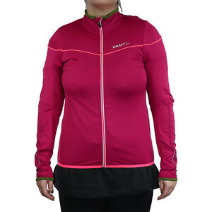 Craft Jacket Move Thermal Jersey Wmn Ladies Red 1903262-2482