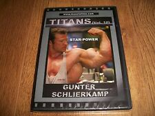 BODYBUILDING DVD-Titans Gunter Schlierkamp(New & Sealed) FREE 1st CLASS POST!!!!